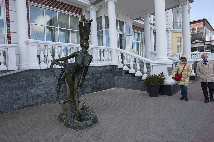 Ундина. Скульптор Герман Брахерт, г. Светлогорск