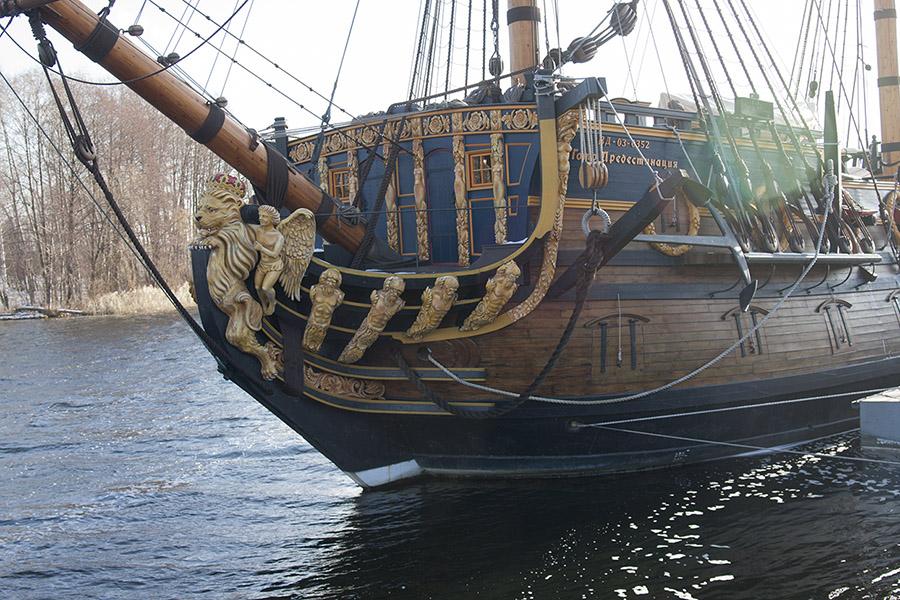 Гото Предестинация - носовая часть корабля