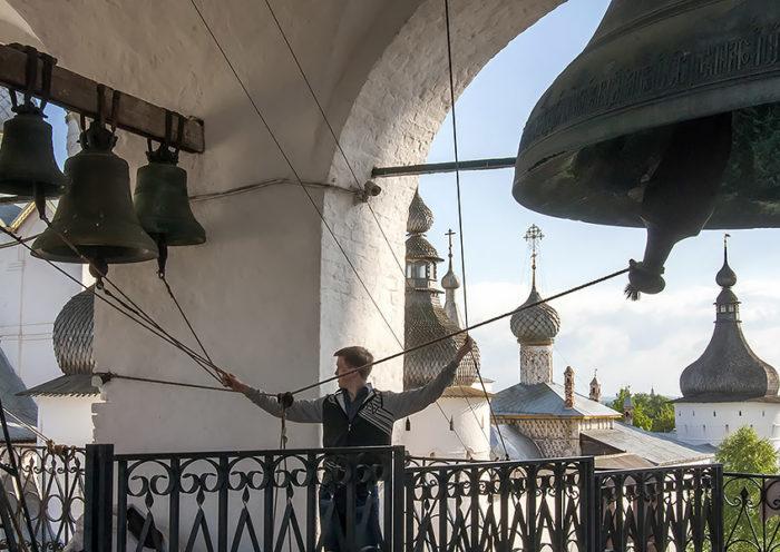 Звонница ростовского кремля