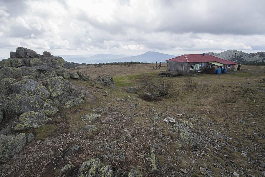 Приют Метеостанция на Таганай горе. Маршруты по национальному парку Таганай