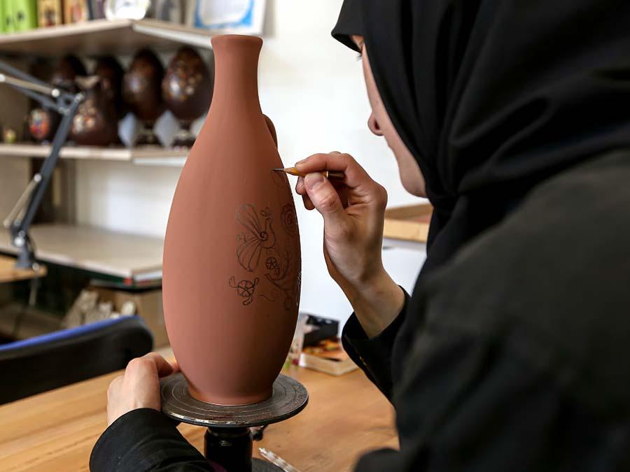 Сольбинская керамика. Творческий процесс изготовления