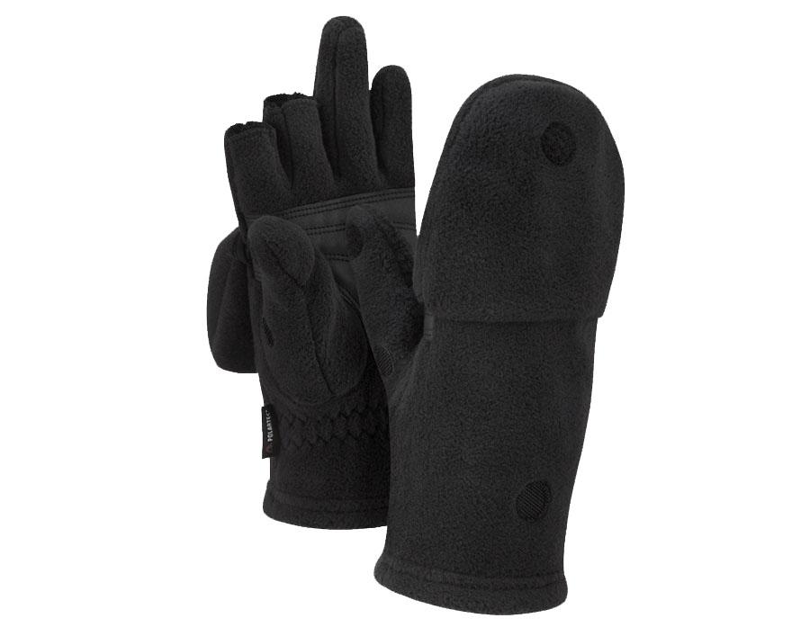 Зимние перчатки без пальцев