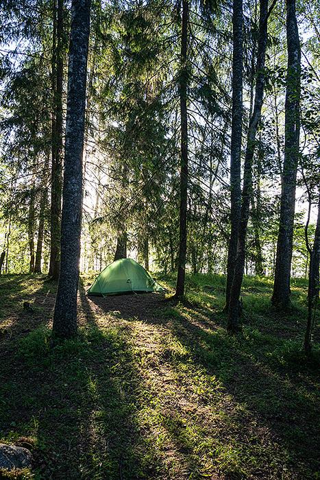 Мой лагерь. Большая Валдайская тропа