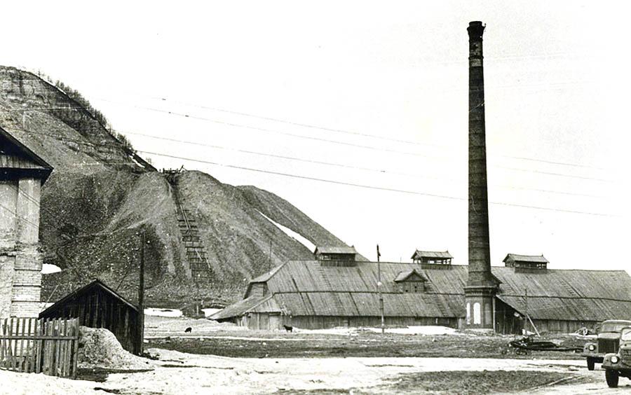 Ширяево. Печь завода